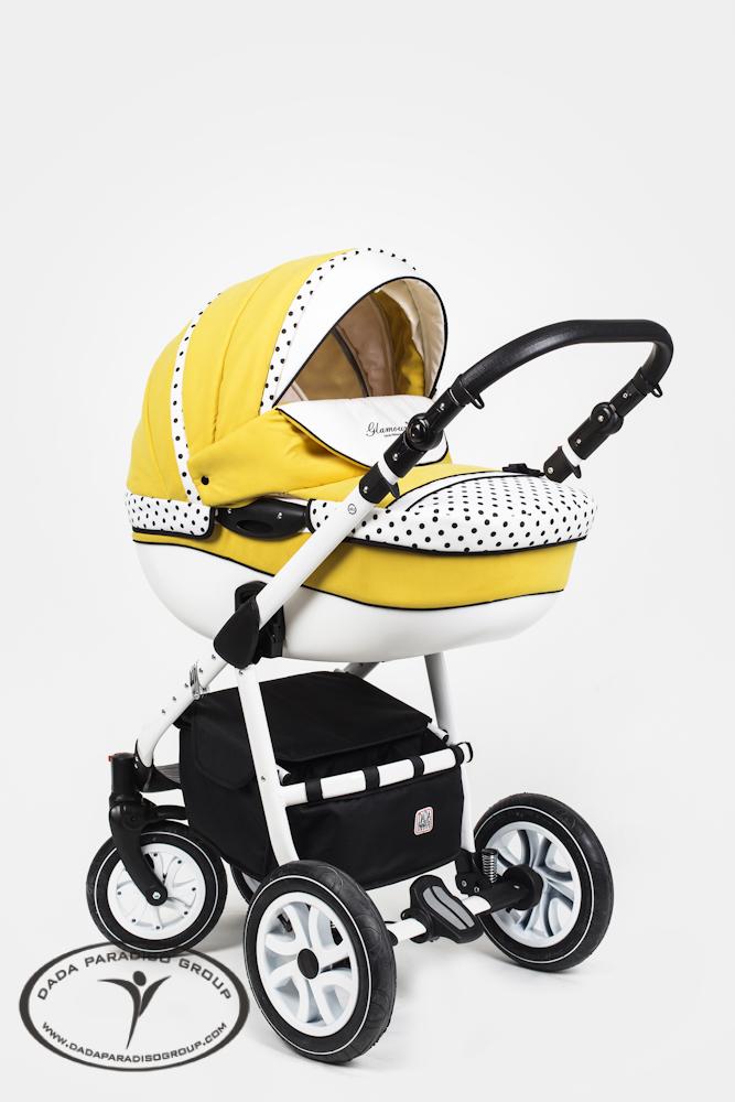 Яркие коляски для новорожденных