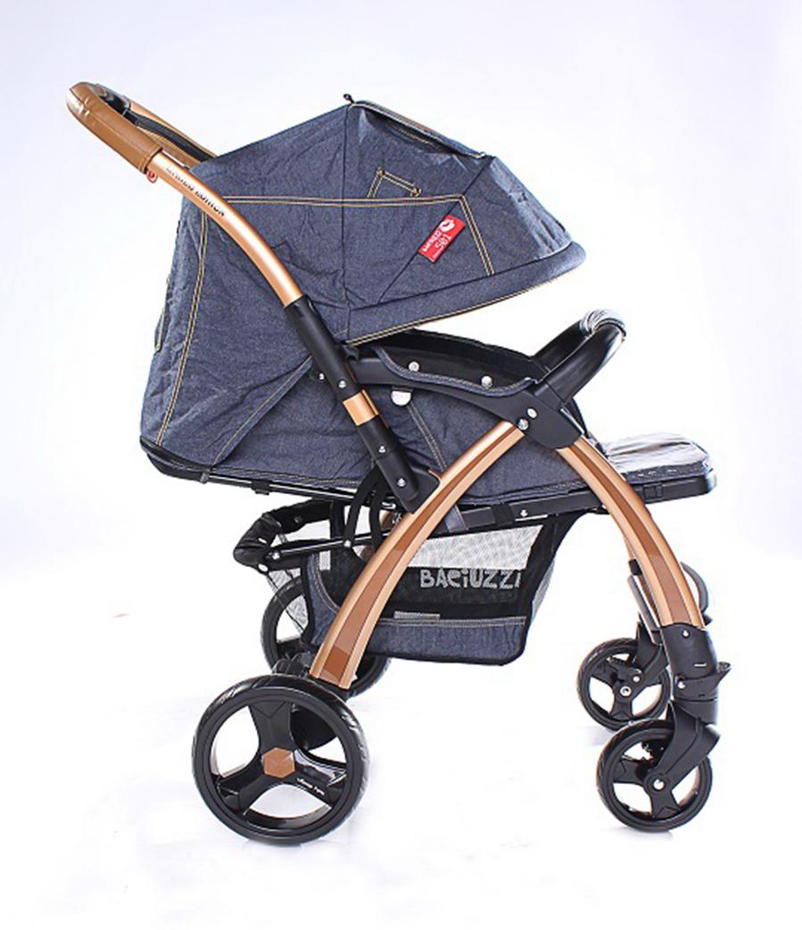 Продам отличную модную коляску peg-perego young-auto цвет denim (джинсовый)!коляска подойдет как для мальчика